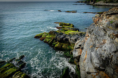 Photograph - The Cliffs Edge by Michael Scott