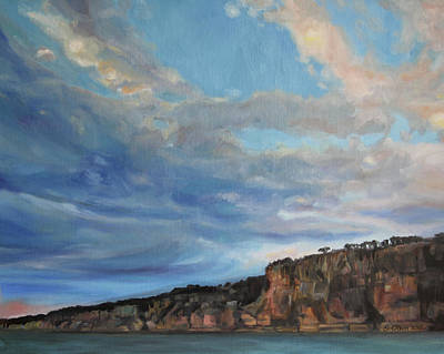 The Cliffs Print by Emily Olson