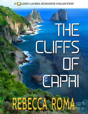 Book Jacket Design Photograph - The Cliffs Of Capri Book Cover by Mike Nellums