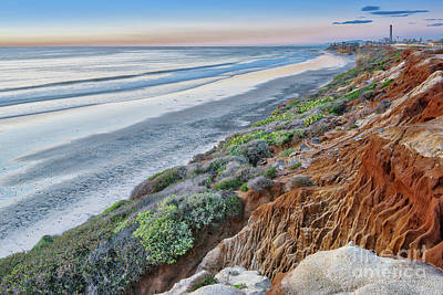 Photograph - The Cliffs Of Carlsbad by David Levin