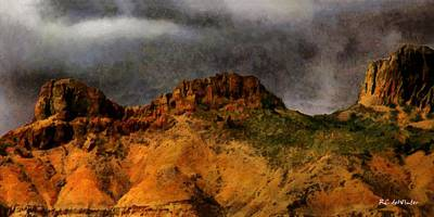 Painting - The Cliffs Of Insanity by RC DeWinter