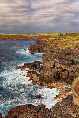 Photograph - The Cliffs Of Kalae by Susan Rissi Tregoning
