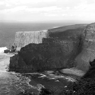 The Cliffs Of Mohar II - Ireland Art Print by Mike McGlothlen