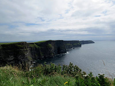 Photograph - The Cliffs Of Moher Ireland by Jacqueline  DiAnne Wasson