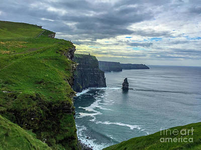 Photograph - The Cliffs Of Moher by Jason Sullivan
