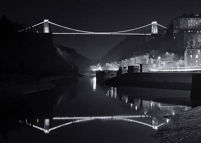 Photograph - The Clifton Bridge by Stephen Taylor