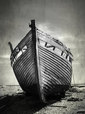 Shipwreck Photograph - The Clinker by Mark Rogan