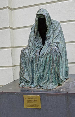 Photograph - The Cloak Of Conscience By  Anna Chromy  by Richard Rosenshein