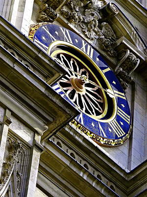 The Clock At Westminster Abbey Original
