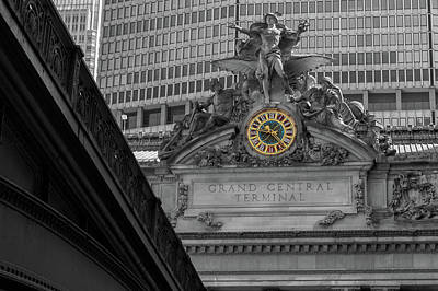 Winter Animals - The Clock Of Grand Central by Jonathan Nguyen