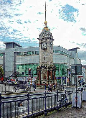 Photograph - The Clock Tower Brighton by Dorothy Berry-Lound