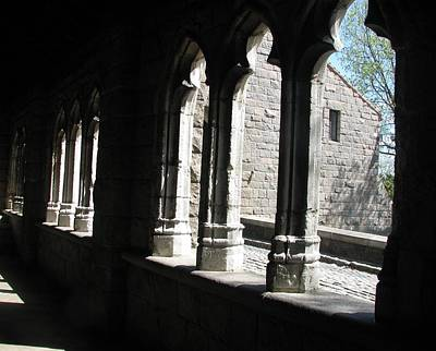 Photograph - The Cloister Foyer by Hasani Blue