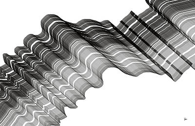Rhythm And Blues Digital Art - The Cloth Of Life  by Sir Josef - Social Critic -  Maha Art