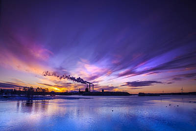 Finland Photograph - The Cloud Factory 2 by Sandra Rugina