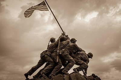 Photograph - The Clouds Over Iwo Jima by Michael Scott