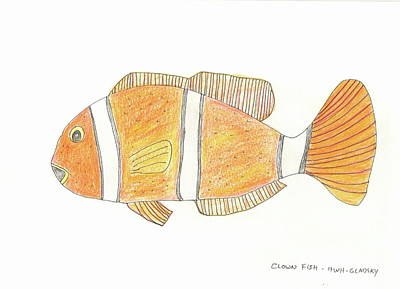 The Clown Fish Art Print
