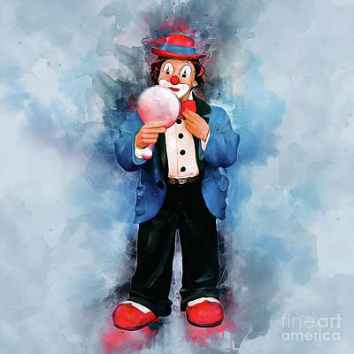Photograph - The Clown by Ian Mitchell