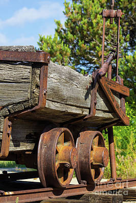 Photograph - The Coal Wagon by Steven Parker