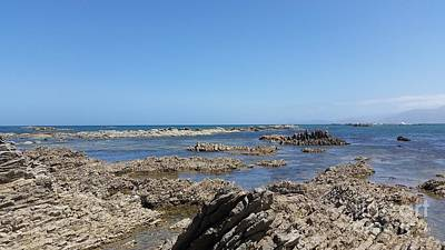 Photograph - The Coast Line Of Kaikoua by Joyce Woodhouse