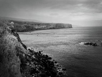 Photograph - The Coast Of Terceira by Kelly Hazel