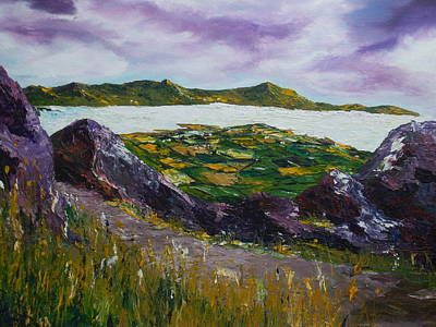 Painting - The Coastal Path To Dingle by Conor Murphy