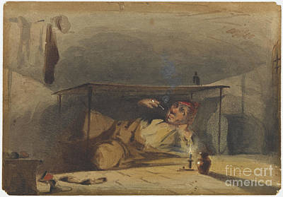 Whistler Painting - The Cobbler by Celestial Images