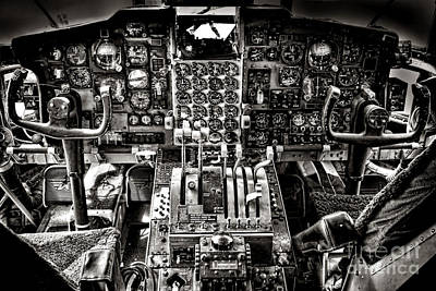 Old Cabins Photograph - The Cockpit by Olivier Le Queinec