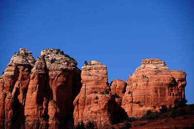Sedona Mountains Photograph - The Coffee Pot by Susanne Van Hulst