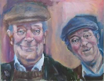 Painting - The Cohen Brothers by Kevin McKrell
