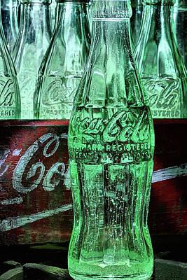 Photograph - The Coke Bottle As Art by JC Findley
