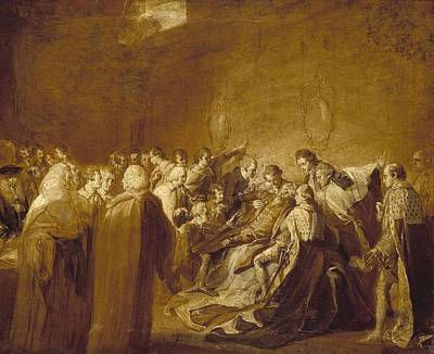 Chatham Painting - The Collapse Of The Earl by John Singleton