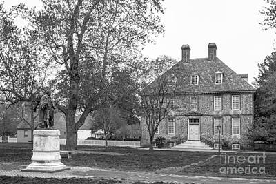 Special Occasion Photograph - The College Of William And Mary President's House by University Icons