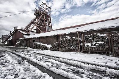 Photograph - The Colliery by Stewart Scott