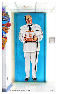 The Colonel  Art Print by Gary Warnimont