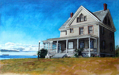 The Colonel's House Art Print by Perry Woodfin