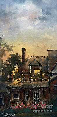Painting - The Colonels Sleeping Porch by Tim Oliver