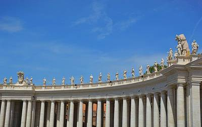 Photograph - The Colonnades by JAMART Photography