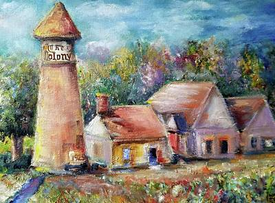 Painting - The Colony Tower  1925 by Bernadette Krupa