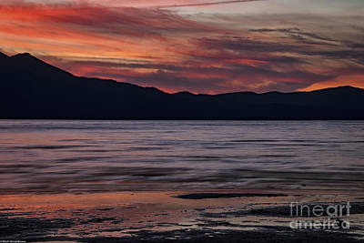 The Color Of Dusk Art Print by Mitch Shindelbower