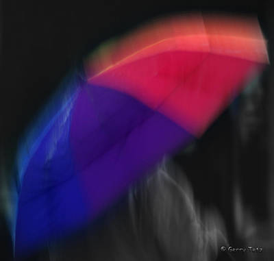 The Color Of Rain Art Print