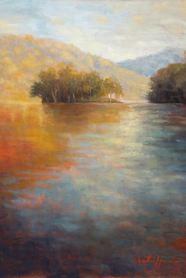 Tennessee River Painting - The Color Of Water by Jonathan Howe