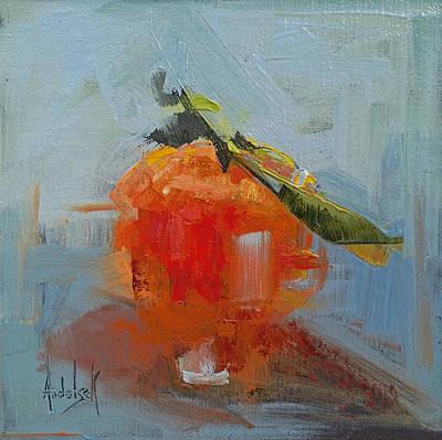 The Color Orange Art Print by Barbara Andolsek