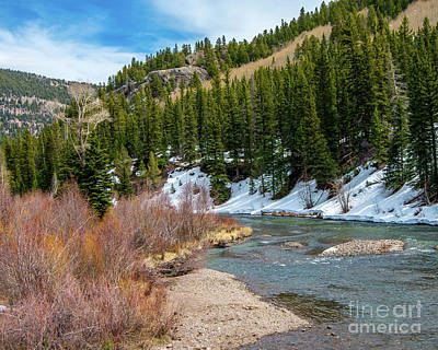 Photograph - The Colorado Border by Steve Whalen