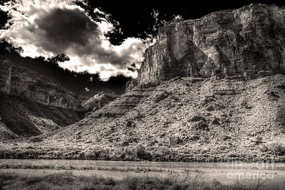 Digital Art - The Colorado East Of Moab by William Fields