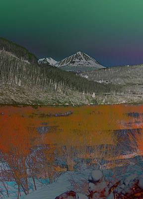 Photograph - The Colorado Mountain by David Pantuso