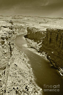 Photograph - The Colorado River by Pete Hellmann