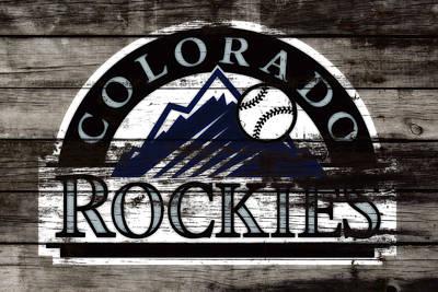 The Colorado Rockies 1b        Art Print by Brian Reaves