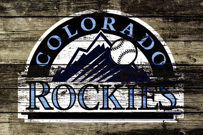 The Colorado Rockies 1c        Art Print by Brian Reaves