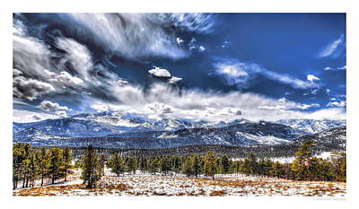 Photograph - The Colorado Rockies by Christopher Wieck