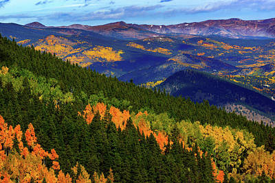 Photograph - The Colorful Rockies by John De Bord